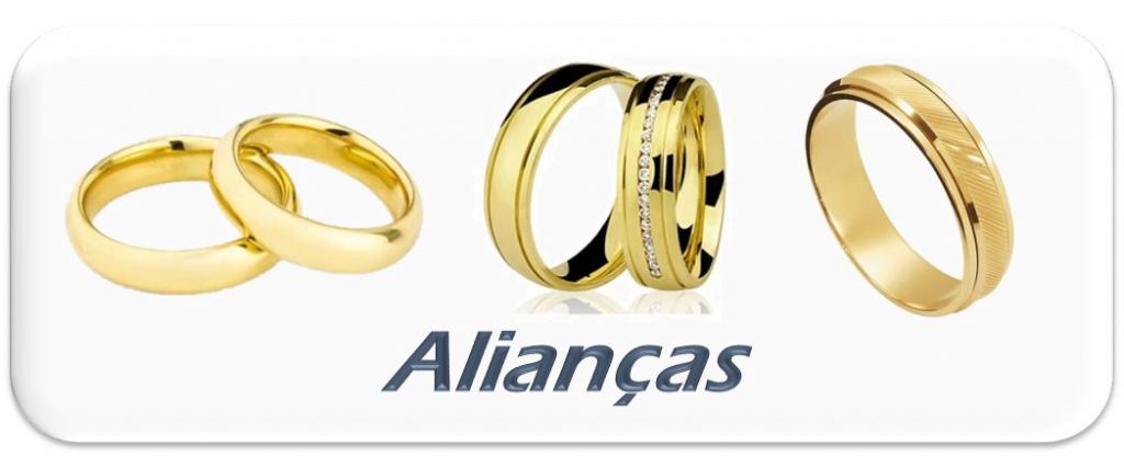 Alianças de casamento, noivado e compromisso
